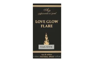 Alexander of Paris Love Glow Flare т/вода жіночa 50мл