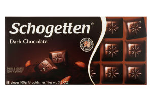 Шоколад чорний 190-01600 Trumpf 100г