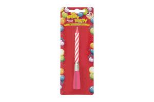 Свічка для торту Happy Party Помічниця 1шт