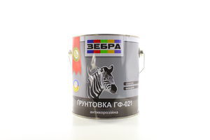 ГРУНТ ГФ-021 ЗЕБРА ЧЕРВОН-КОРИЧ 2,8КГ