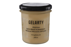 Мороженое Крем-брюле по рецепту Франсуа Мессьяло 1691 года Gelarty с/б 350мл