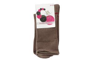 Шкарпетки Интуиция жіночі Латте 256 23-25