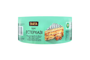 Торт повітряно-горіховий Естерхазі Tarta к/у 500г