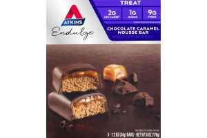 Atkins Endulge Chocolate Caramel Mousse Bar - 5 CT