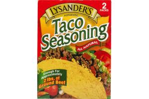 Lysander's Taco Seasoning - 2 CT