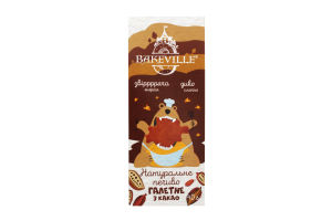 Печенье галетное с какао Bakeville к/у 40г