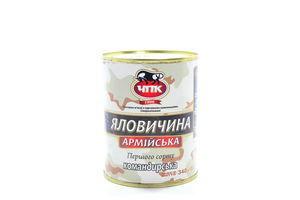 Говядина армейская Командирская ЧПК ж/б 340г