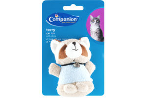 Companion Cat Toy Terry with Catnip