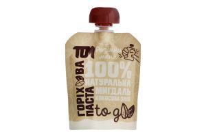 Паста горіхова Мигдаль-кокосова олія Том д/п 64г