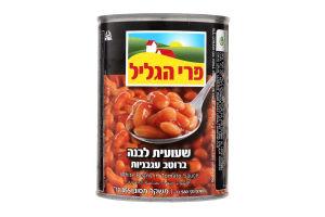 Фасоль Pri HaGalil в томатном соусе кошерная