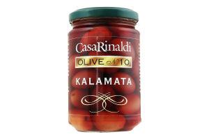 Оливки с косточкой Kalamata Casa Rinaldi с/б 300г
