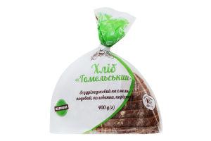 Хліб бездріжджовий на хмелю половинка в нарізці Гомельський Кріворіжхліб м/у 400г