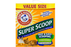 Arm & Hammer Super Scoop Clumping Litter Value Size