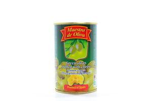 Оливки с сыром Maestro de Oliva ж/б 300г