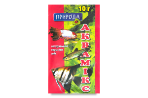 Корм для рыб Природа Аквамикс
