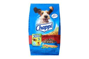 Корм сухий для собак З яловичиною, птицею та овочами Chappi м/у 500г