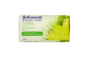 Мило Johnson Body Мило Body Care Vita Rich Пробуджуюче з олією кісточок винограду 125 гр