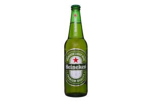 Пиво 0.5л 5.0% светлое Heineken бут