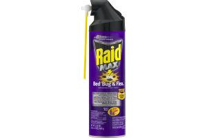 Raid Max Bed Bug & Flea Spray