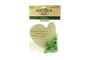 Варежка-мочалка с натуральными волокнами крапивы Natura Vita 1шт