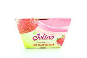 Десерт фруктовый мусс клубничный Jolino 95г