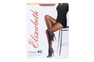 Колготки жіночі Elizabeth Classic 40den 5 visone