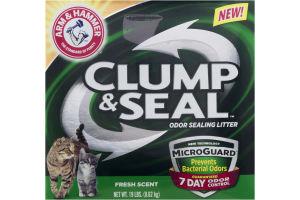 Arm & Hammer Clump & Seal Odor Sealing Litter Fresh Scent