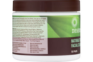 Desert essence tea tree oil facial pads