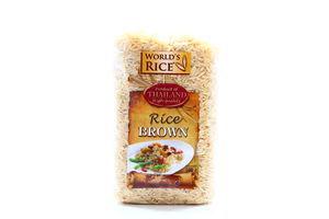 Рис Натуральный World's Rice 500г