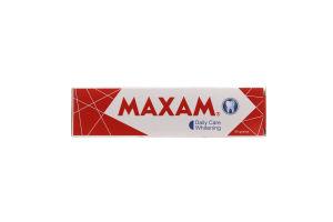 Паста зубная Maxam отбеливающая с мятным ароматом