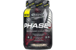 MuscleTech Performance Series Phase8 Protein Vanilla