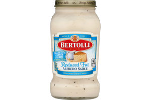 Bertolli Sauce Alfredo Reduced Fat