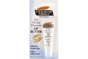 Palmer's Cocoa Butter Formula with Vitamin E Lip Butter Dark Chocolate & Peppermint