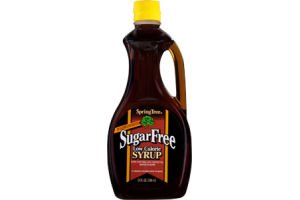 Spring Tree Sugar Free Low Calorie Maple Syrup