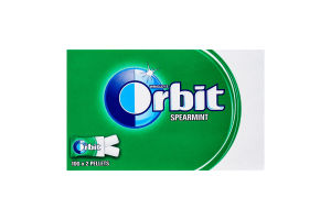Резинка жевательная без сахара Spearmint Orbit к/у 280г