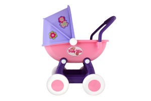 Коляска для кукол 4-х колесная для детей от 3лет №48202 Arina Polesie 1шт