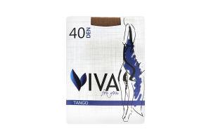 Viva колготки жіночі Tango 40 natural 4