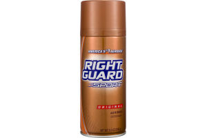 Right Guard Sport Aerosol Deodorant Original