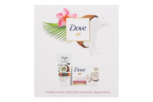 Набор подарочный Кокосовое удовольствие Dove 1шт