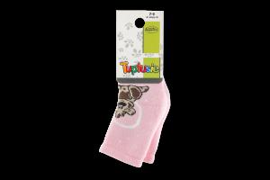 """Шкарпетки дитячі TUPTUSIE махрові 196 (дівчинка) р. 7-9, 1 шт (ТМ """"TUPTUSIE"""")"""