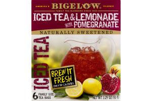 Bigelow Iced Tea & Lemonade with Pomegranate - 6 CT
