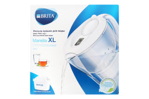 Фильтр-кувшин для воды 3.5л №1039299 Marella XL Brita 1шт