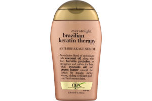 OGX Anti-Breakage Serum Ever Straight Brazilian Keratin Therapy