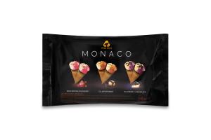 Набір морозива 10% у ріжку Monaco Three Bears м/у 360г