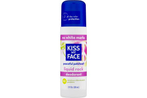 Kiss My Face Peaceful Patchouli Liquid Rock Deodorant