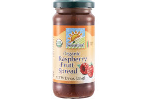 Bionaturae Raspberry Fruit Spread Organic
