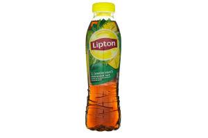 Напій безалкогольний негазований Xолодний чорний чай зі смаком манго Lipton п/пл 0.5л