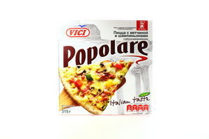 Пицца ветчина-шампиньоны Popolare Vici 315г