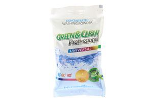 Порошок стиральный универсальный Green&Clean Professional 10х100г