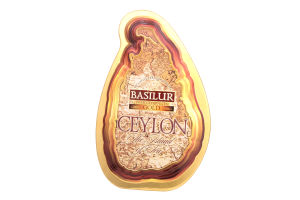 Чай черный Basilur Map Gold цейлонский